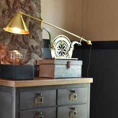 Anonymous Bookbinder Lamp #KidBedrooms