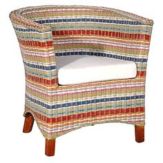 I pinned this Funstripes U Chair I from the Jeffan event at Joss and Main!