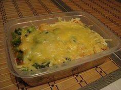 Ryż z kurczakiem i warzywami 1 woreczek ryżu 1 pierś z kurczaka 1 opakowanie warzyw na patelnię 1 cebula 1 kostka rosołowa przyprawa do gyrosa żółty ser  Filet z kurczaka pokroić,wrzucić na patelnię i podsmażyć.mięso posypać przyprawą do gyrosa.Pokroić cebulę i poddusić razem z mięsem. 3) Warzywa bez rozmrażania wrzucić na osobną patelnię i dusić pod przykryciem, aż będą miękkie.ułożyć na talerzu: najpierw ryż, na to warzywa i mięso. Na sam koniec zetrzeć żółty ser i posypać.
