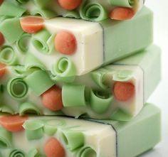 Cucumber Melon Soap Handmade Cold Process Vegan