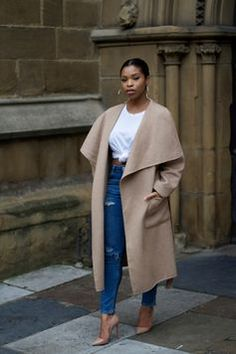 Oversized Coats #camel #backtofall #streetstyle http://weardownjacket.blogspot.com/  how pretty with this fashion CAOT! 2014 CANADA GOOSE JACKET discount for you! $169.99