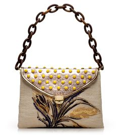 deb877d380c Tory Burch Maddie Wheat Embroidered Shoulder Bag Small Bags, Handbag  Accessories, Fashion Accessories,