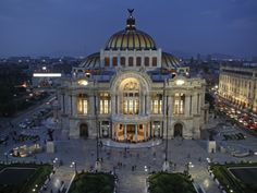 Mexico City, Palacio De Bellas Artes Is the Premier Opera House of Mexico City, Mexico Photographic Print by David Bank at Art.com