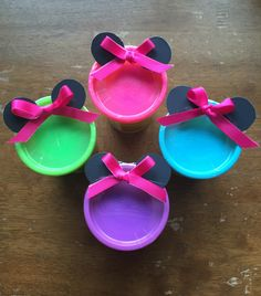 Dollar DIY Birthday Party Favors – Minnie Mouse and Knights – Our Little Ways