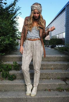 Image result for harem pants and shoes