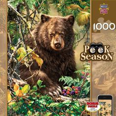 Berry Bear - 1000 Piece Jigsaw Puzzle