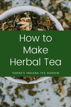 Making your own herbal tea is a great next step to your herb gardening journey. You can make tea from fresh herbs or dried herbs in your very own home! Making herbal tea | The benefits of herbal tea | Medicinal herbal tea | How to make your own herbal tea | Using dried herbs | How to dry your herbs | DIY herbal tea Making Herbal Tea, Hara Hara, Herbal Tea Benefits, Herb Gardening, Tea Gifts, Mint Chocolate Chips, Tea Blends, How To Make Tea