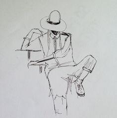Sketching Nadia of Frou Frouu
