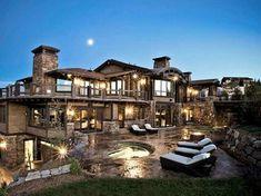 fancy houses mansions beautiful #luxurymansiones #luxuryrustichomes