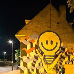 Street art in #Eindhoven, a light bulb moment? | #LightisLife