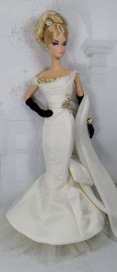 Crystal White for Silkstone Barbie