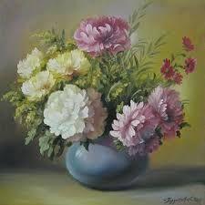 Картинки по запросу картины с цветами известных художников