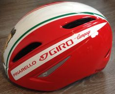 My new helmet; Giro Air Attack, special painted by Unlimited Colors