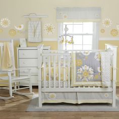 gray and yellow...I know this isn't baby shower, but I also know she will most likely turn to you for suggestions. Love love this softness of this!