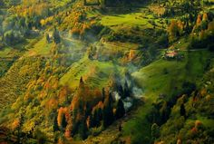 Autumn in Trabzon city Turkey