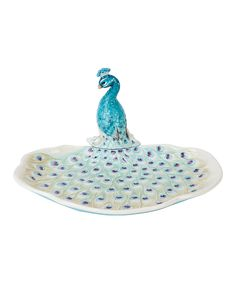 Love this Peacock Server by Edie Rose by Rachel Bilson on #zulily! #zulilyfinds