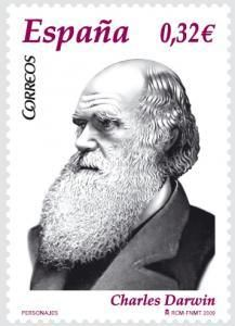 Sello español dedicado a  Charles Darwin Charles Darwin, Darwin Tattoo, Darwin Evolution, Truth To Power, Thing 1, Celebrity Gallery, Postage Stamps, Famous People, Einstein