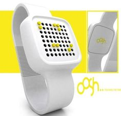Braille watch. *repinned by wonderbaby.org