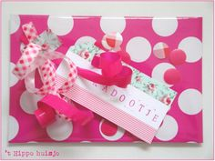 Mooi inpakken Ribbons, Presentation, Wraps, Presents, Gift Wrapping, Packaging, Gift Ideas, Pink, Gifts
