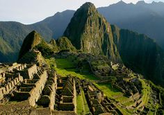 Machu Picchu, Peru.  Just went there in March...a truly magical place!