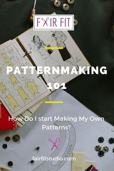 Patternmaking 101 : How Do I Start Making my Own Patterns? — Fair Fit Studio - Patternmaking 101 : How Do I Start Making my Own Patterns? Sewing Hacks, Sewing Tutorials, Sewing Crafts, Sewing Tips, Pattern Drafting Tutorials, Techniques Couture, Sewing Techniques, Clothing Patterns, Sewing Patterns