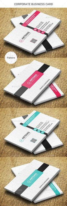 Buy Corporate Business Card by Dkgray on GraphicRiver. Clean business card made for companies or personal use. Business Card Maker, Free Business Cards, Unique Business Cards, Corporate Business, Business Card Design, Creative Business, Coperate Design, Name Card Design, Free Design