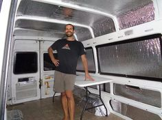 Living full time out of a Sprinter van, converted into a tiny home in about a week.