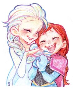 Elsa & Anna by A-KA (ID: 280298)