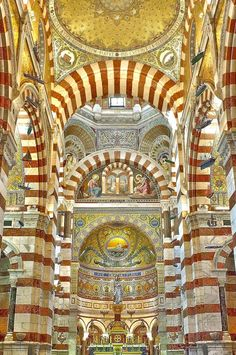 Notre-Dame de la Garde by B Ng, via 500px