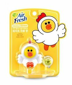 Line Friends Characters Home Car Vent Clip Air Freshener Chicken Sally #Homez