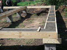 Как сделать фундамент под каркасный дом | Строительный портал