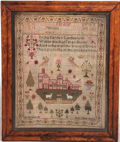 Buy online, view images and see past prices for Needlepoint Sampler with Red Houses. Invaluable is the world's largest marketplace for art, antiques, and collectibles.