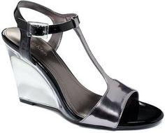 Calvin Klein Women's Shoes, Mattie Wedge Sandals on shopstyle.com