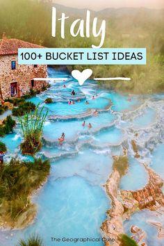 Europe Bucket List, Bucket List Destinations, Summer Bucket Lists, Italy Destinations, Italy Vacation, Vacation Spots, Vacation Trips, Vacation Ideas, Vacations