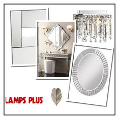 """LAMPSPLUS"" by ella2309 ❤ liked on Polyvore featuring Possini Euro Design, Varaluz, Global Views and Noble Park"