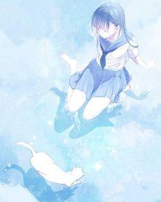 e-shuushuu kawaii and moe anime image board Kawaii Anime Girl, Girls Anime, Anime Art Girl, Aesthetic Art, Aesthetic Anime, Anime Style, Pretty Art, Cute Art, Manga Font