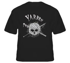 Yarn t-shirt FUNNY Pirate theme knitting t-shirt Yarn Spool skull with knitting needles get it for mom!