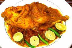 স্পাইসি হোল চিকেন | Shajgoj