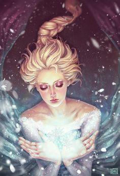 Frozen ~ Elsa by serafleur.deviantart.com on @deviantART