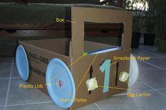 Raised in Raleigh: Cardboard Box Cars