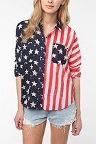 BDG Flag Breezy Shirt
