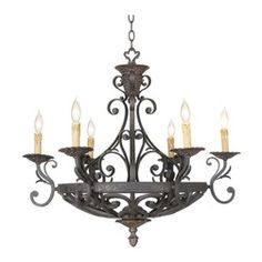 country cottage kathy ireland romantic chandeliers - Google Search