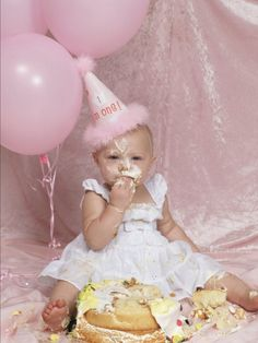 My daughters first birthday pictures