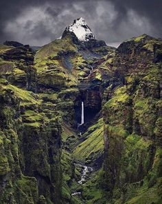 Secret waterfall in South Iceland Photography by dkphotographyau Landscape Photography, Nature Photography, Travel Photography, Dream Photography, Photography Workshops, Places To Travel, Places To See, Beautiful World, Beautiful Places