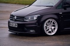 VW Caddy with Rotiform HUR-T