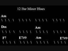 Blues Guitar Backing Track - A Minor with Hammond Organ - YouTube