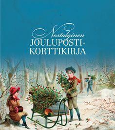 Nostalginen joulupostikorttikirja, Aurinkokustannus, 2015