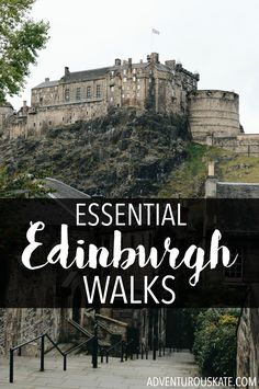 18 Of The Most Luxurious And Expensive Places To Stay In Scotland Edinburgh, like most of my favorite cities, is a city best discovered on foot. Here are some of my favorite walks of Edinburgh. Edinburgh Travel, Edinburgh Castle, Scotland Travel, Ireland Travel, Scotland Trip, Castle Scotland, Scotland Uk, Places To Travel, Places To See