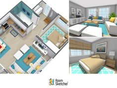 Learn more about RoomSketcher Home Designer, the easy-to-use online floor plan and home design tool. Draw a floor plan, furnish, decorate and see it instantly in 3D! http://www.roomsketcher.com/features/home-designer/ #homedesign #interiordesign #floorplans