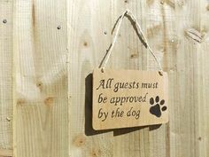 Funny Pet Sign